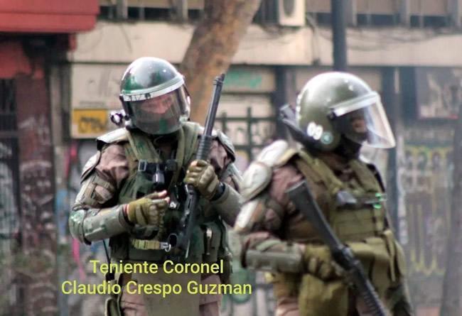 Noticias Chile | PDI detiene al Teniente Coronel Claudio Crespo por dejar ciego a Gustavo Gatica