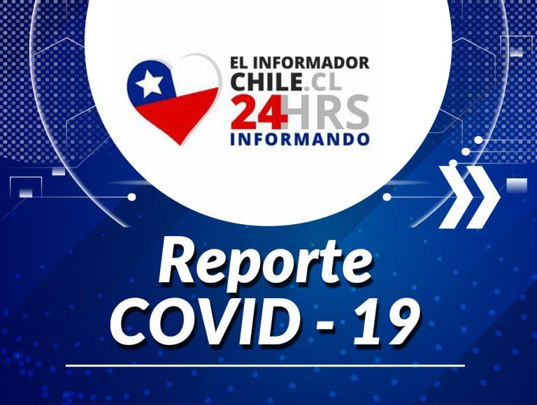 "Noticias Chile | Ministro Paris revela aumento de contagios de Covid-19, pero dice que no es ""Gigantesco"" | INFORMADORCHILE"