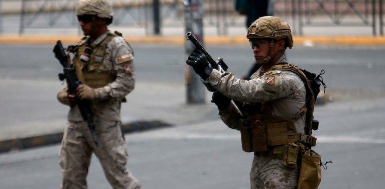 Noticias Chile | Individuos son detenidos luego de no respetar control militar e intentar atropellar a funcionarios del Ejército de Chile | INFORMADORCHILE