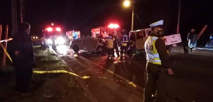 Noticias Chile | Tres personas fallecieron en grave accidente en camino de montaña en Curicó