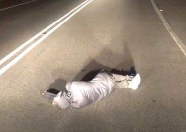 Noticias Chile | Individuo fue sorprendido pasando la caña en plena ruta Lo Orozco | INFORMADORCHILE