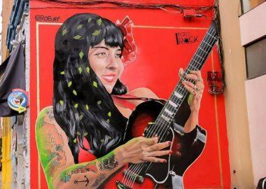 Noticias Chile | Destruyen por completo mural de Mon Laferte en el centro de Santiago