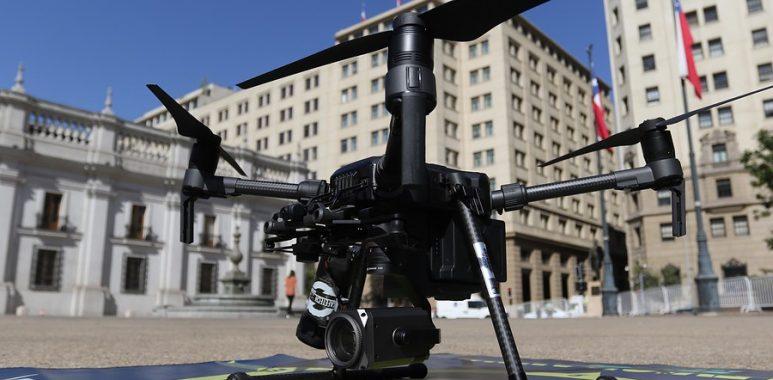 Noticias Chile | Carabineros de Chile controló el espacio aéreo con más de doce drones para el 11 de septiembre