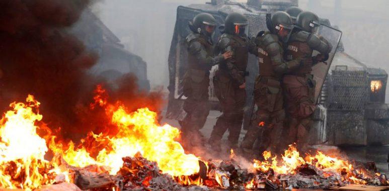 Noticias Chile   Guillermo Teillier promueve la violencia en Plaza Italia, en entrevista a La Tercera