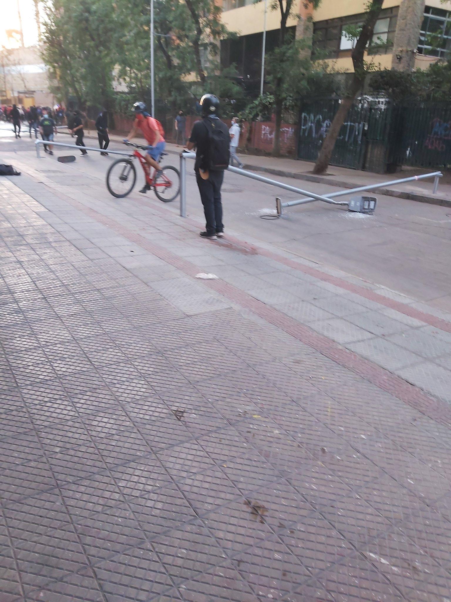 """Noticias Chile   Alcalde de Santiago: """"Están destruyendo la ciudad y la calidad de vida de los vecinos"""""""