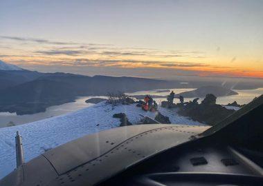 Noticias Chile | Fach rescata y salva a mujer a 1.000 metros de altitud