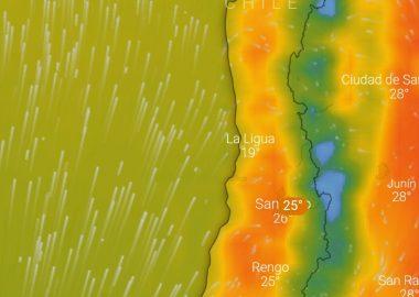 Noticias Chile | Intensa ola de calor afectará a las regiones de Coquimbo, Valparaíso, RM y O'Higgins