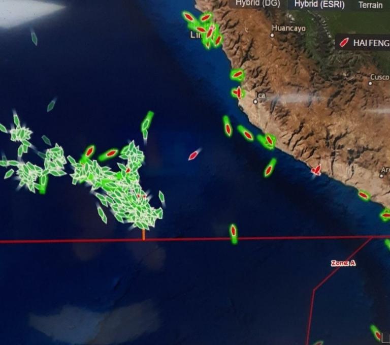 Noticias Chile   Inminente ingreso de la flota China a nuestro territorio mantiene en alerta a la Armada