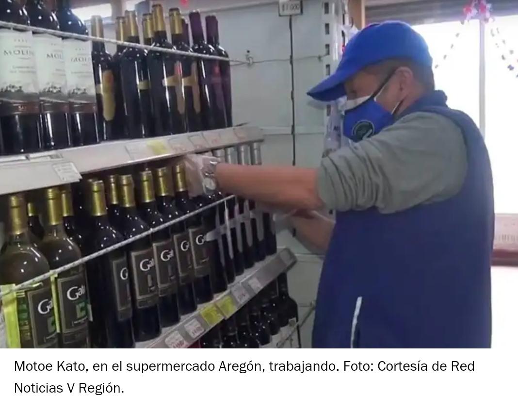 Noticias Chile | Doctor en biología molecular trabaja de reponedor en supermercado por la crisis económica