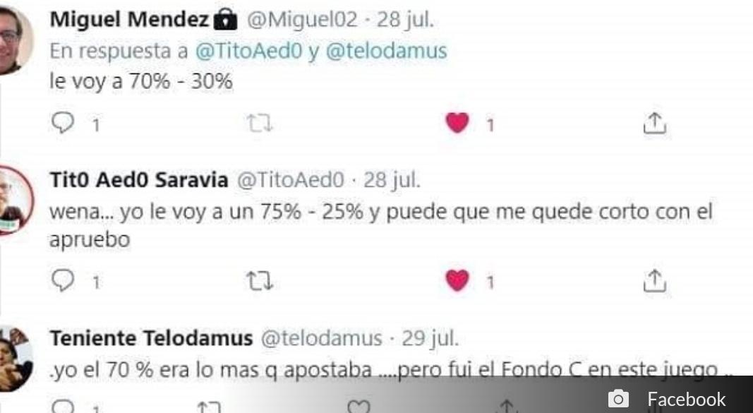 Noticias   Chileno fue el único que acertó con el triunfo del Apruebo, lamentablemente falleció sin poder votar