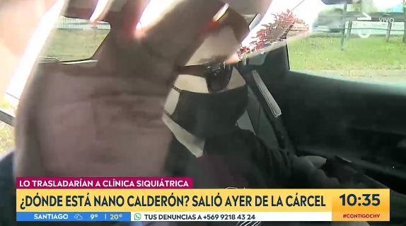 Noticias Chile | Nano Calderón ya está en la exclusiva Clínica psiquiátrica de Pocuro