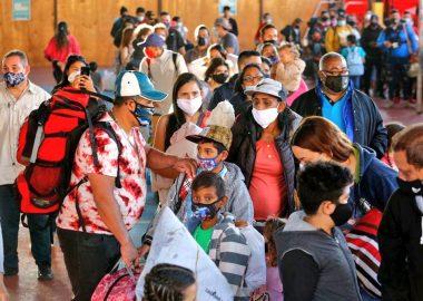 Noticias Chile | 357 venezolanos llegarán a Santiago desde Iquique, todos ingresaron de forma ilegal