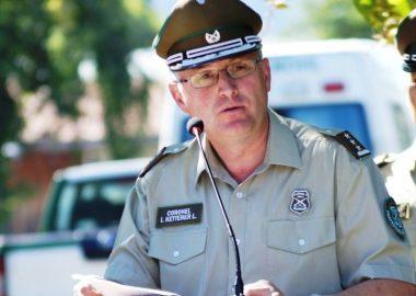 Noticias Chile | Grave crisis en carabineros renunció general recien nombrado en La Araucanía