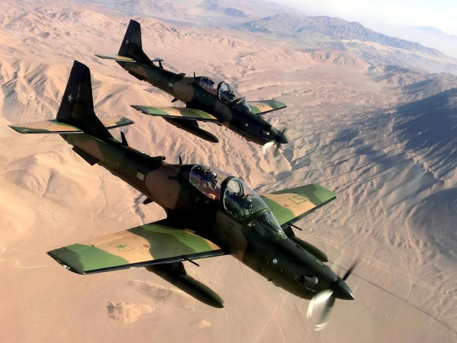Noticias Chile | Fach adquiere dos aviones A -29 B Super Tucano de entretenimiento en combate