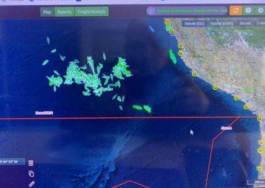 Noticias Chile | Armada desmiente tajantemente que flota China este frente a Taltal