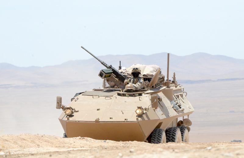 Noticias Chile | Ejército dona a carabineros 10 blindados Mowag