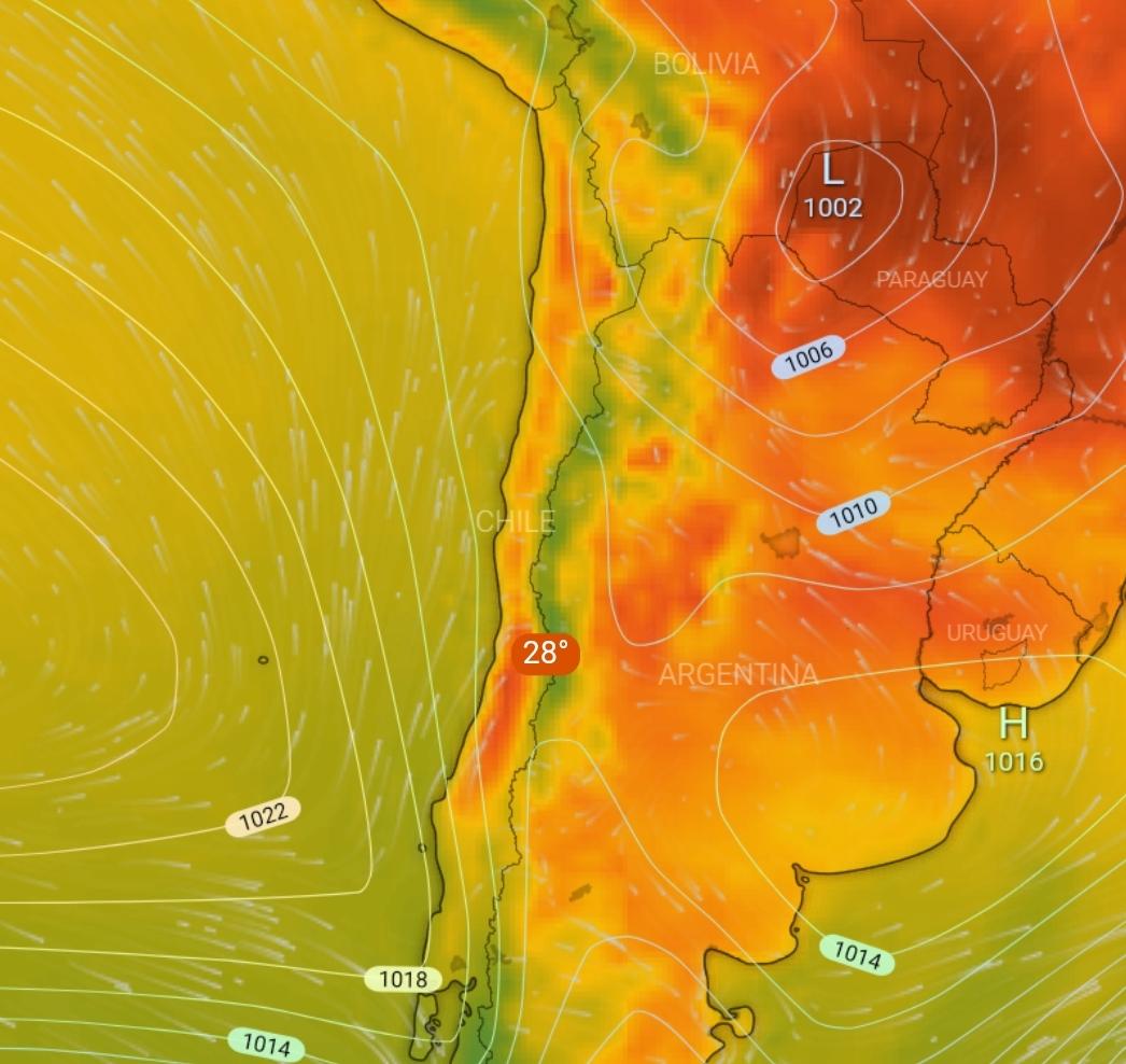 Noticias Chile | Onemi activa alerta por ola de calor para la zona central, temperaturas llegarían a los 34°c