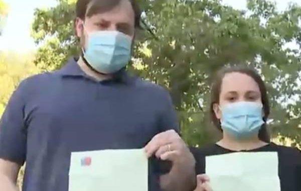 Noticias Chile | Matrimonio venezolano fue sancionado con un multa de 2.5 millones por sacarse la mascarilla