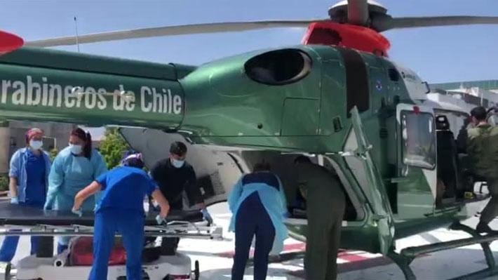 Noticias Chile | Carabinera madre de una hija fue atropellada por delincuentes, arriesga perder su pierna