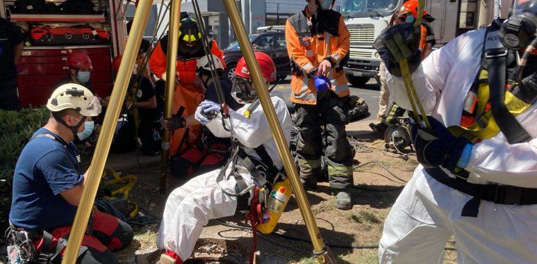 Noticias Chile   Hombre pisa una alcantarilla en mal estado y cae 10 metros, provocando su muerte en el lugar