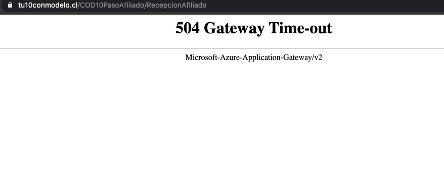 Noticias Chile   AFP Modelo vuelve a presentar fallas y caidas de su página web
