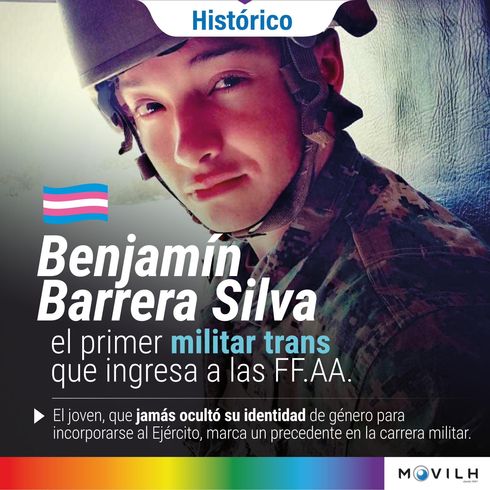 Noticias Chile | Ejército de Chile tiene el primer trans entre sus filas