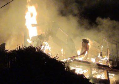 Noticias Chile | Incendio consume casa por completo en Valparaíso, dejando una menor de 12 años fallecida
