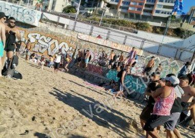 Noticias Chile   Hombre es asesinado en plena playa de Viña del Mar, repleta de personas