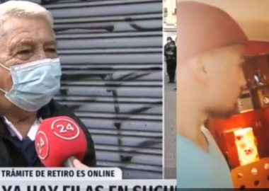 """Noticias Chile   Nieto de abuelito que dijo que no tenía internet para sacar su 10 % dijo qué era """"chamullero"""""""