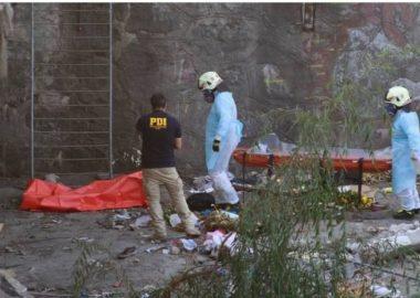 Noticias Chile | Cadáver masculino es encontrado en el cause del río Mapocho