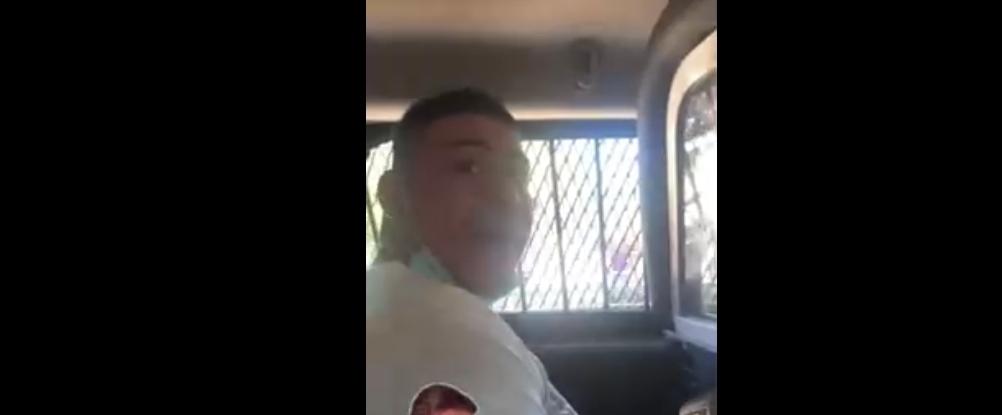 Noticias Chile | Video viral muestra como delincuente se golpea la cabeza dentro de patrulla policial