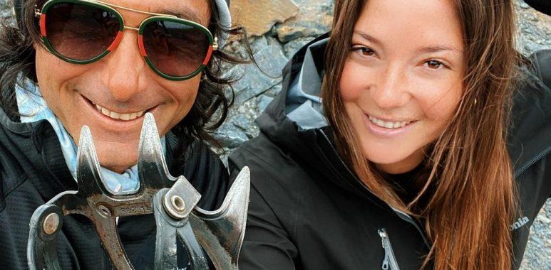 """Noticias Chile   Kel Calderón viajó a las Torres del Paine con Claudio Iturra: """"Sólo somos amigos"""""""