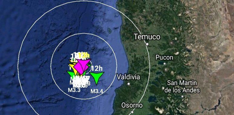 Noticias Chile   Más de 20 réplicas se han dejado sentir frente a Valdivia luego del sismo 6.7