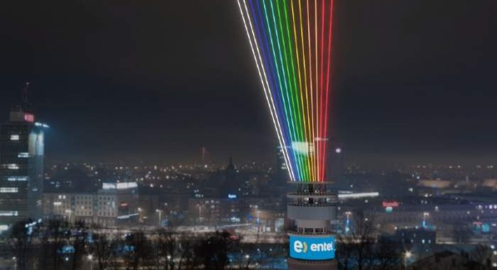 Noticias Chile | Torre Entel tendrá espectáculo de luces para recibir el año 2021