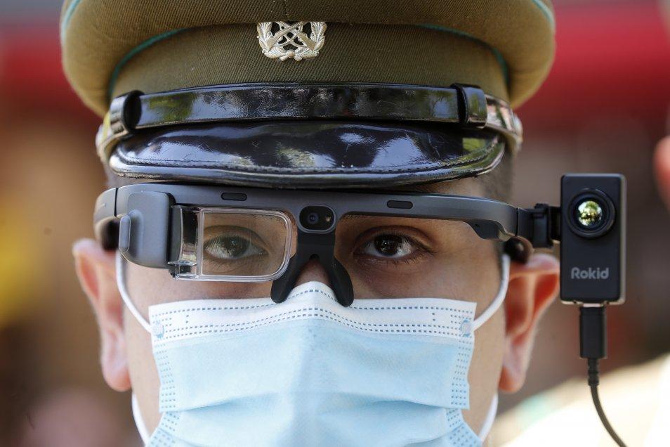 Noticias Chile | Carabineros gastó U$127.000 en poderosos visores térmicos para detectar personas con temperatura