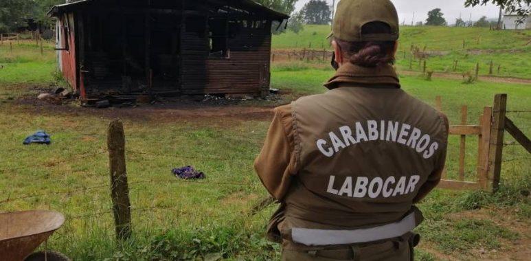 Noticias Chile | Decretan prisión preventiva para hombre que viajó más de 7 regiones para quemar casa de su ex pareja
