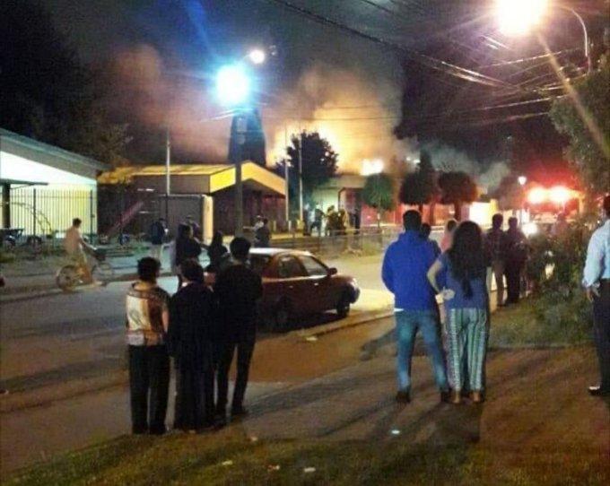Noticias Chile   Se reportan múltiples incendios por uso de fuegos artificiales ilegales
