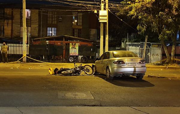 Noticias Chile | Trabajador municipal de La Florida murió por individuo que no respetó signo Pare