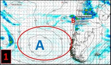 Noticias Chile | Onemi activa diversas alertas ante la probabilidad de aluviones en la zona centro sur del país por sistema frontal