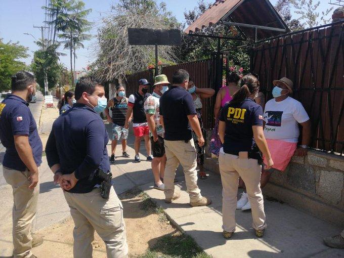 Noticias Chile | Fiesta clandestina de Villa Alemana,  terminó con la decisión de expulsar del país a extranjeros participantes