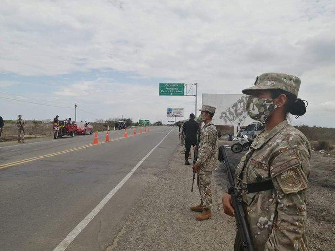 Noticias Chile | Ejército Peruano despliega 1.200 efectivos para evitar ingreso de venezolanos en la frontera