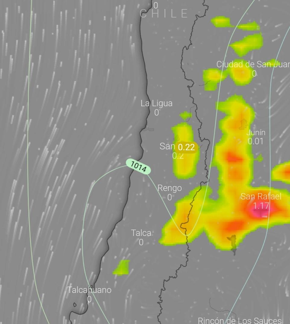Noticias Chile | Pronostican tormentas eléctricas de la Región Metropolitana al sur del país