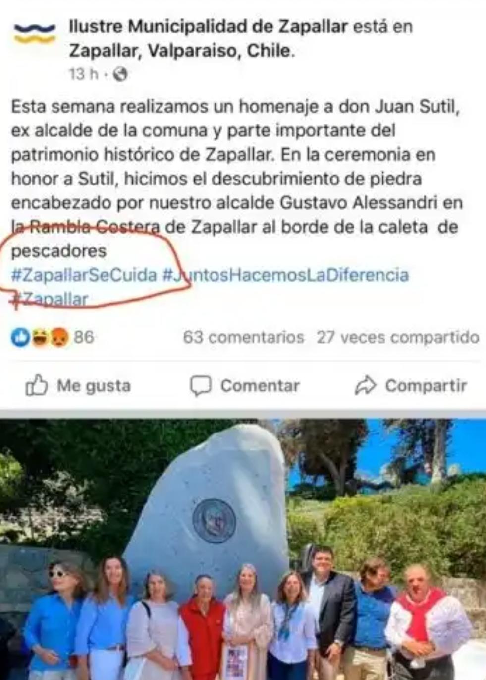 Noticias Chile | Denuncian al alcalde de Zapallar por no usar mascarilla en actividad pública