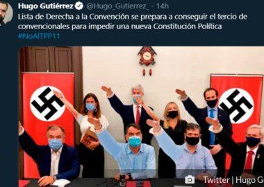 Noticias Chile   Chile Vamos llevará a la Comisión de Ética a Hugo Gutiérrez por incetivar el odio y la violencia