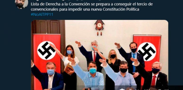 Noticias Chile | Chile Vamos llevará a la Comisión de Ética a Hugo Gutiérrez por incetivar el odio y la violencia