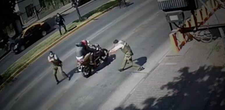 Noticias Chile | Vuelco: Nunca hubo balacera en Providencia, un carabinero le disparó a su compañero