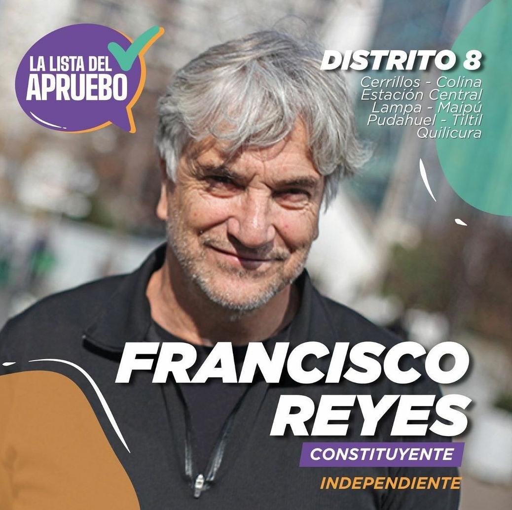 Noticias Chile | Francisco Reyes lanzó su campaña para redactar la nueva Constitución del país