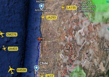 Noticias Chile   Gigantesco puente aéreo de la FACH está pasando para descongestionar camas covid de regiones colapsados