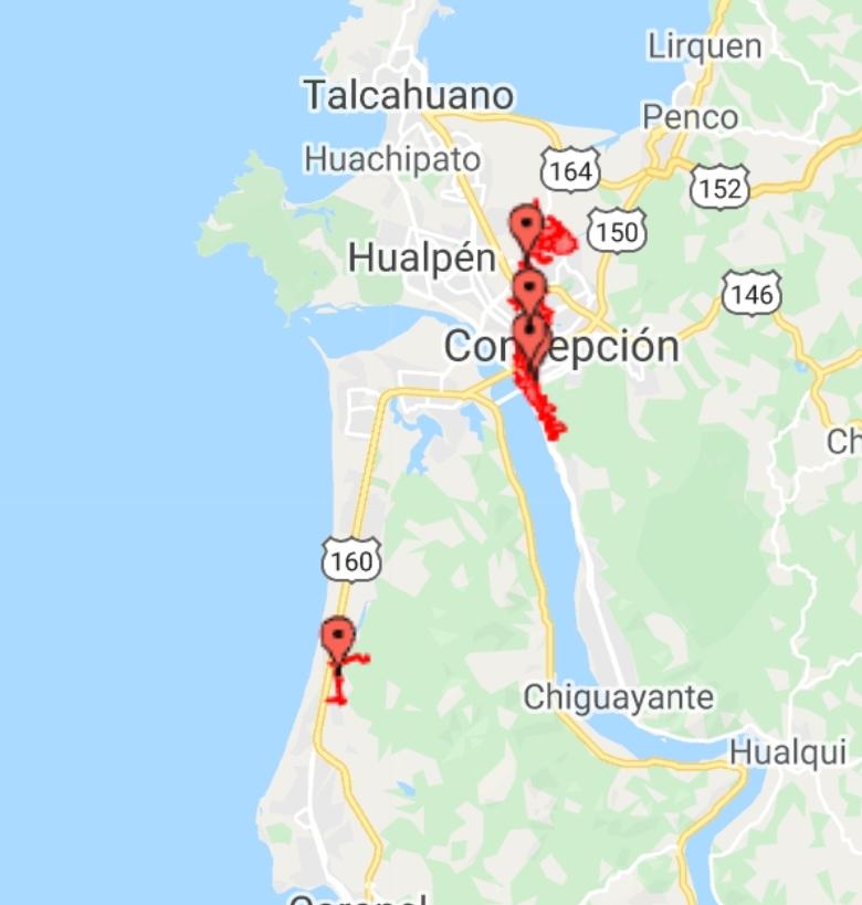 Noticias Chile | Masivo corte de energía afecta a la ciudad de Concepción