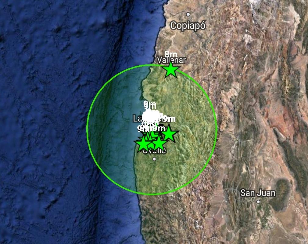 Noticias Chile | Sismo se registra en la IV Región de Chile